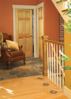 Lemieux Interior Door 6 Panel Pine