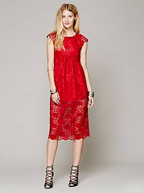 Free People Long Lace Babydoll, $432.00