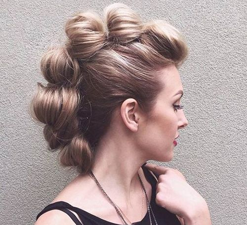 6 Crazy Hairstyles For Long Hair Jpg 500 455 À¸—รงผม