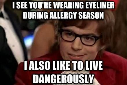 I Also Like To Live Dangerously Humor Just For Laughs Funny Pictures