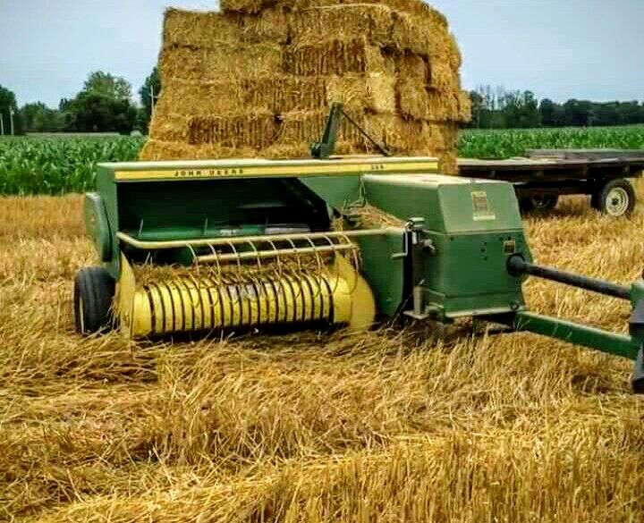 JOHN DEERE 336 Square Baler | Farm Equipment | Old farm