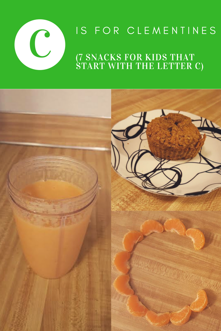 7 snacks that start with the letter c