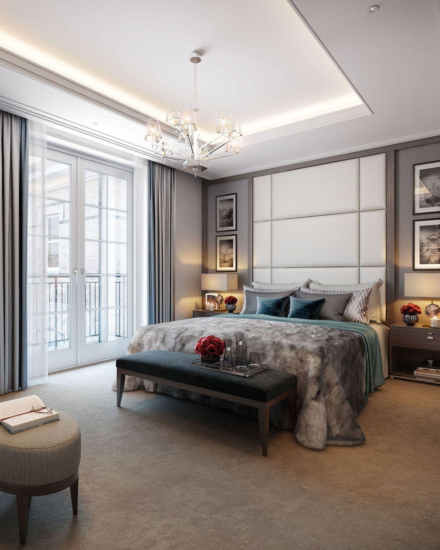 Ultra modern bedroom interior design wimbledon hill park u cid interior  bedroom  pinterest  hill park