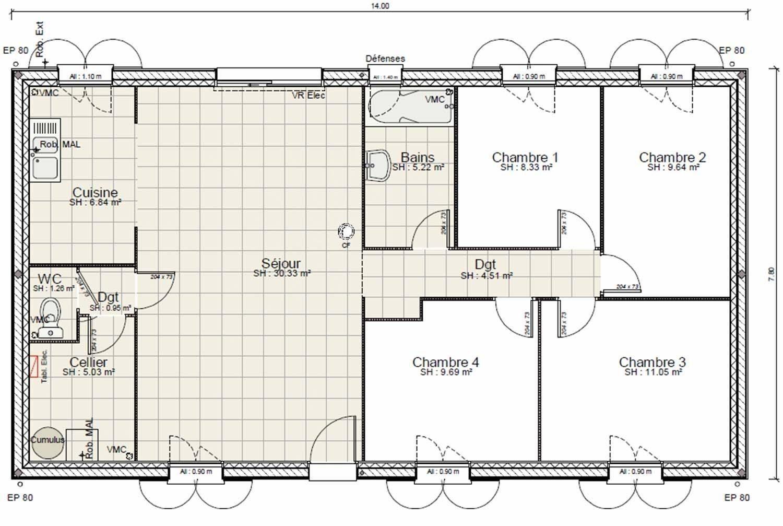 12 Le Plus Beau Plan Maison Gratuit Plain Pied 3 Chambres De Annalena Us Idees 2019 Planmaisongratuit2d Planmaisongra In 2021 How To Plan Floor Plans Good Company