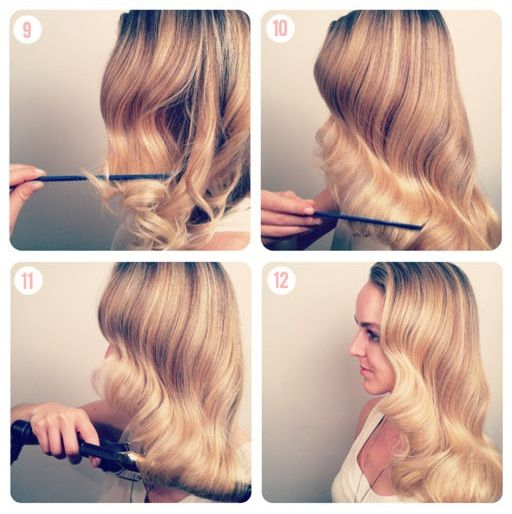 Vintage Hair How To Hair Pinterest Hair Styles Hair And Long