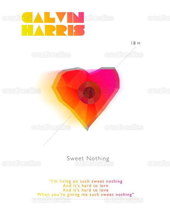 Calvin Harris Poster by Vincenzo Marco Palmieri on CreativeAllies.com