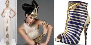 atuendo, accesorios y calzado egipcio