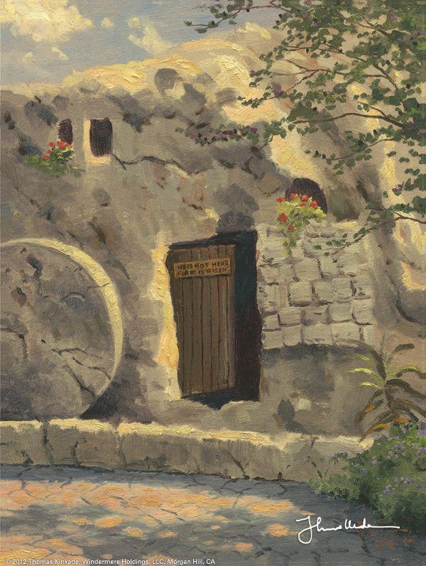 The Garden Tomb by Thomas Kinkade 4/21/15
