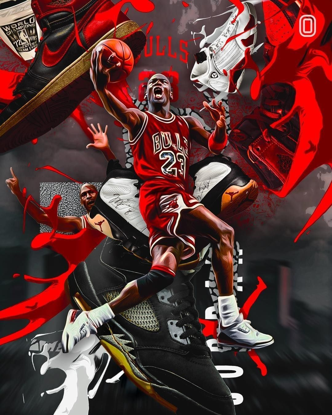 Michael Jordan's wallpapers in 2020 Michael jordan