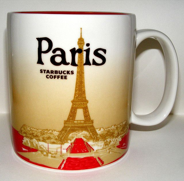 starbucks mug paris eiffel 2010 mugs pinterest tasse caf et chocolats. Black Bedroom Furniture Sets. Home Design Ideas