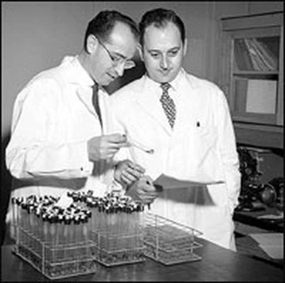 1952 | Dr. Jonas Salk develops an injectable vaccine against polio at the University of Pittsburgh.
