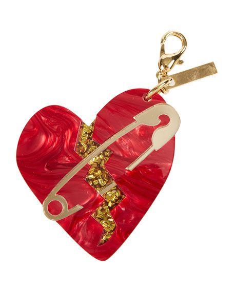 Edie Parker Broken Heart Bag Charm tdU2nr2q2U