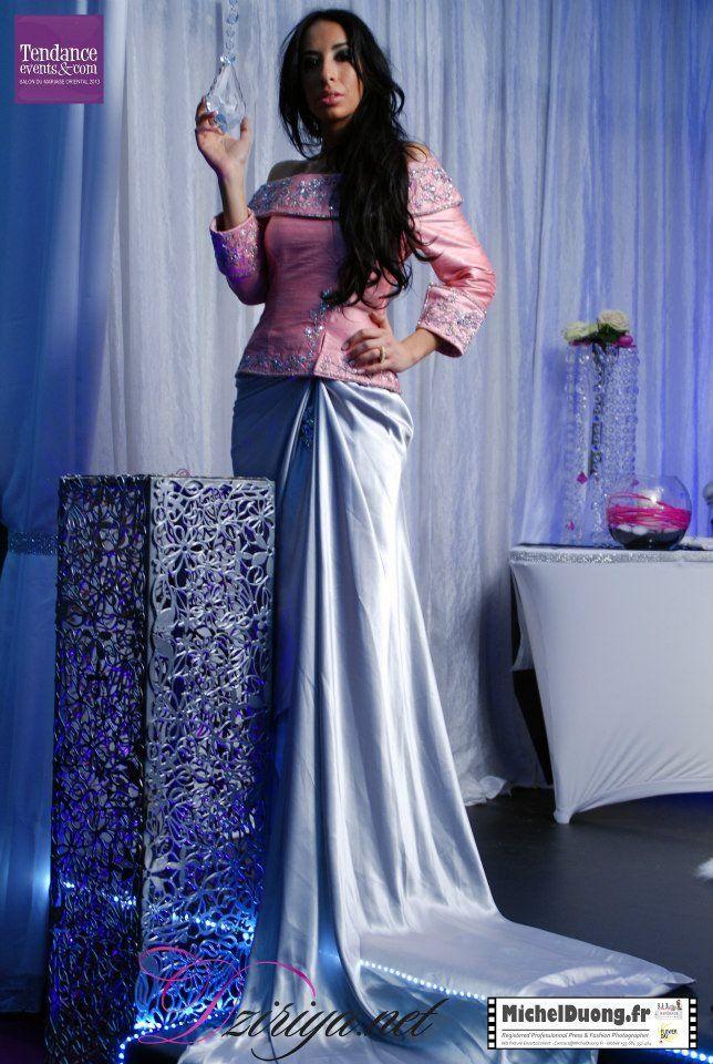 Nouveaux mod les de samir kerzabi moroccan dress modern fashion and lyon - Salon du mariage oriental lyon ...