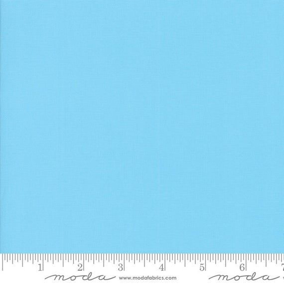 Moda BELLA SOLIDS Quilt Fabric By-The-1/2-Yard - 9900 193 Surf