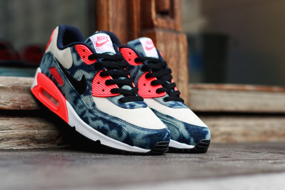 nike air max 90 qs washed denim