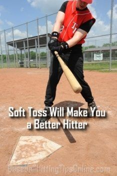 Soft Toss Hitting Drills And Equipment Can Help In A Big Way Baseball Hitting Baseball Workouts Baseball Hitting Drills