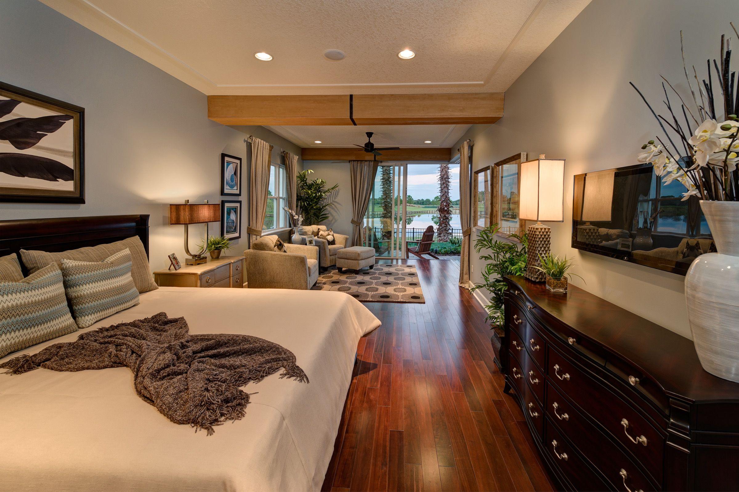 the gen x master bedroom at eagle creek in orlando fl
