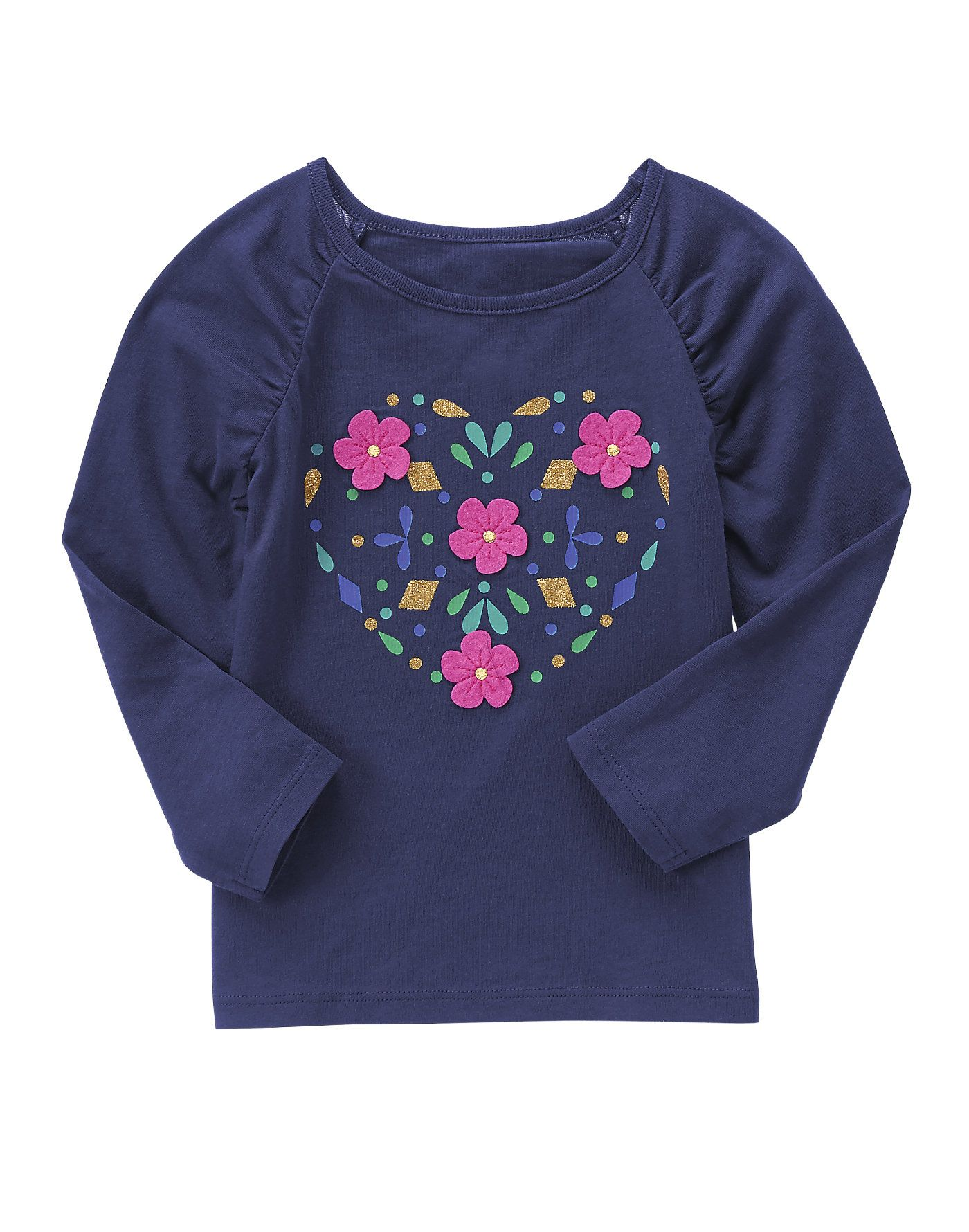 Floral Heart Tee