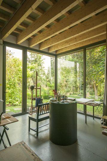 atelier d\u0027artiste  BAGARD  LURON architectes atelier Pinterest - Brique De Verre Exterieur Isolation
