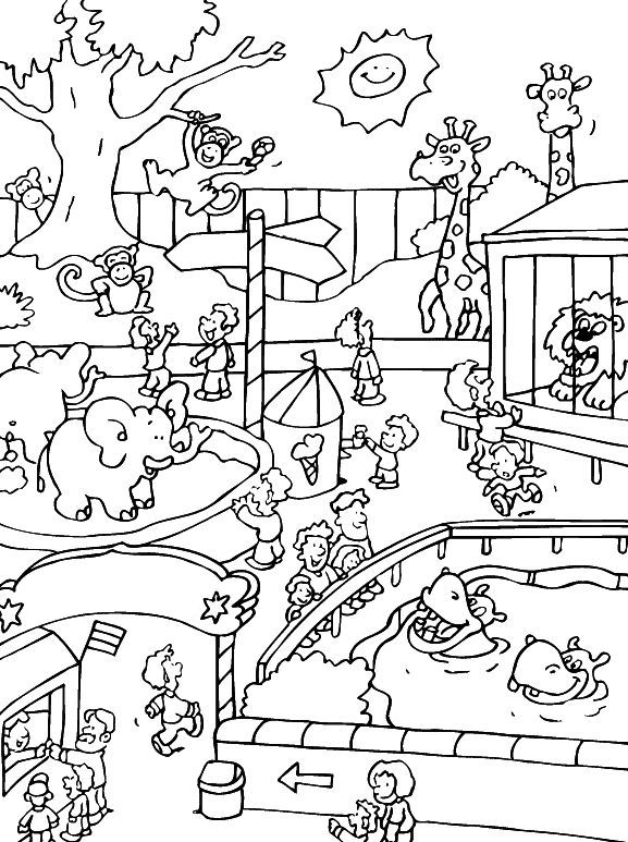 Zoo Animals Coloring Pages Best Coloring Pages For Kids Zoo Animal Coloring Pages Zoo Coloring Pages Animal Coloring Pages