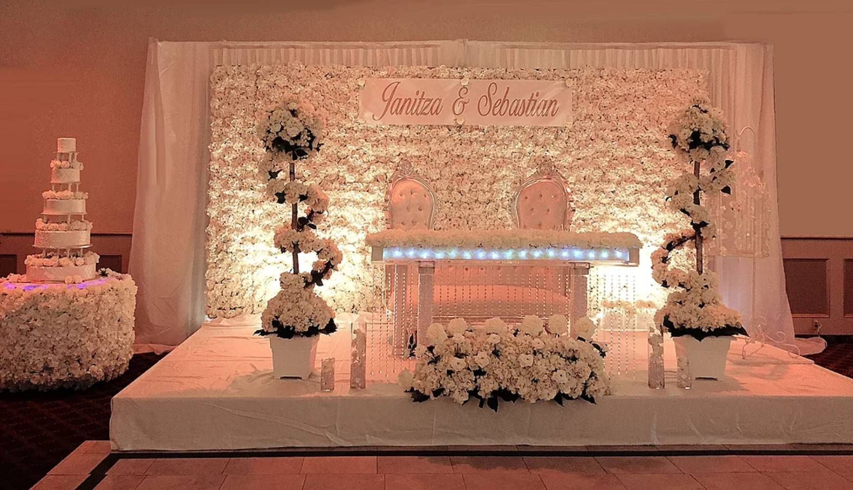 Royalty Party Rentals Flower Walls In Little Ferry New Jersey Njwedding Royaltyrentals Partyrentals Tent Rental Wedding Centerpiece Rentals Flower Wall