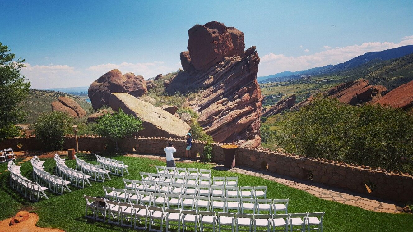 Red Rocks Morrison Co Wedding Venue Colorado Pinterest