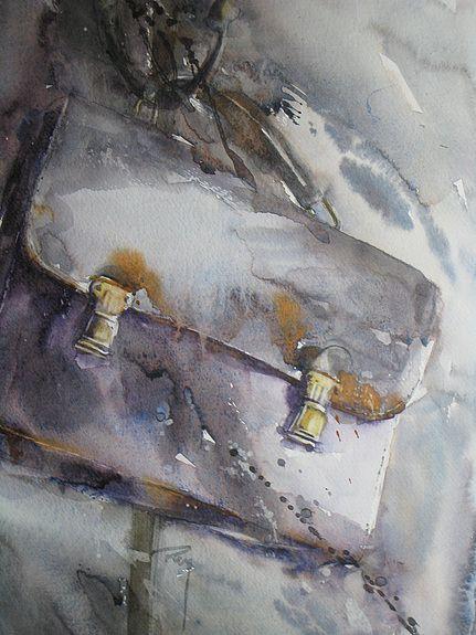 Catherine Rey Watercolor Peinture A L Aquarelle Mode Aquarelle