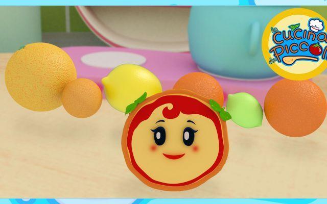 Cartoni animati per bambini margherita e gli agrumi una