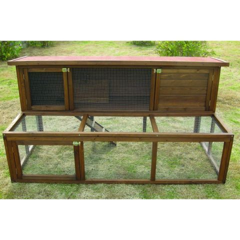 Cool Pets Rileys Wooden Rabbit Hutch – Next Day Delivery Cool Pets Rileys Wooden Rabbit Hutch