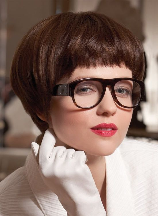 17 Best Short Hair with Fringe Hairstyle Ideas to
