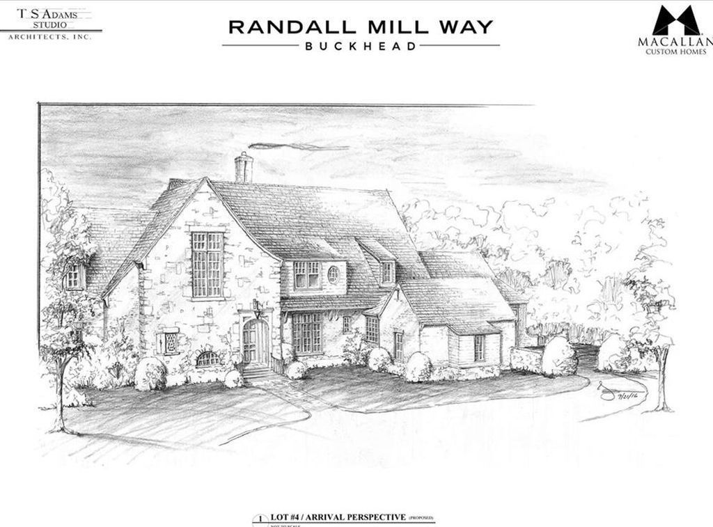 For sale 995,000. Randall Mill Way is an exclusive