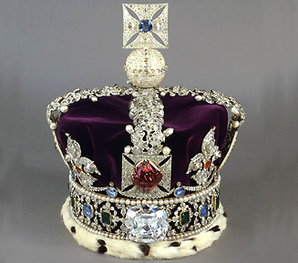 the imperial state crown worn by queen elizabeth ii during her coronation on june 2 1953 http royalcor royal crown jewels british crown jewels royal jewels royal crown jewels