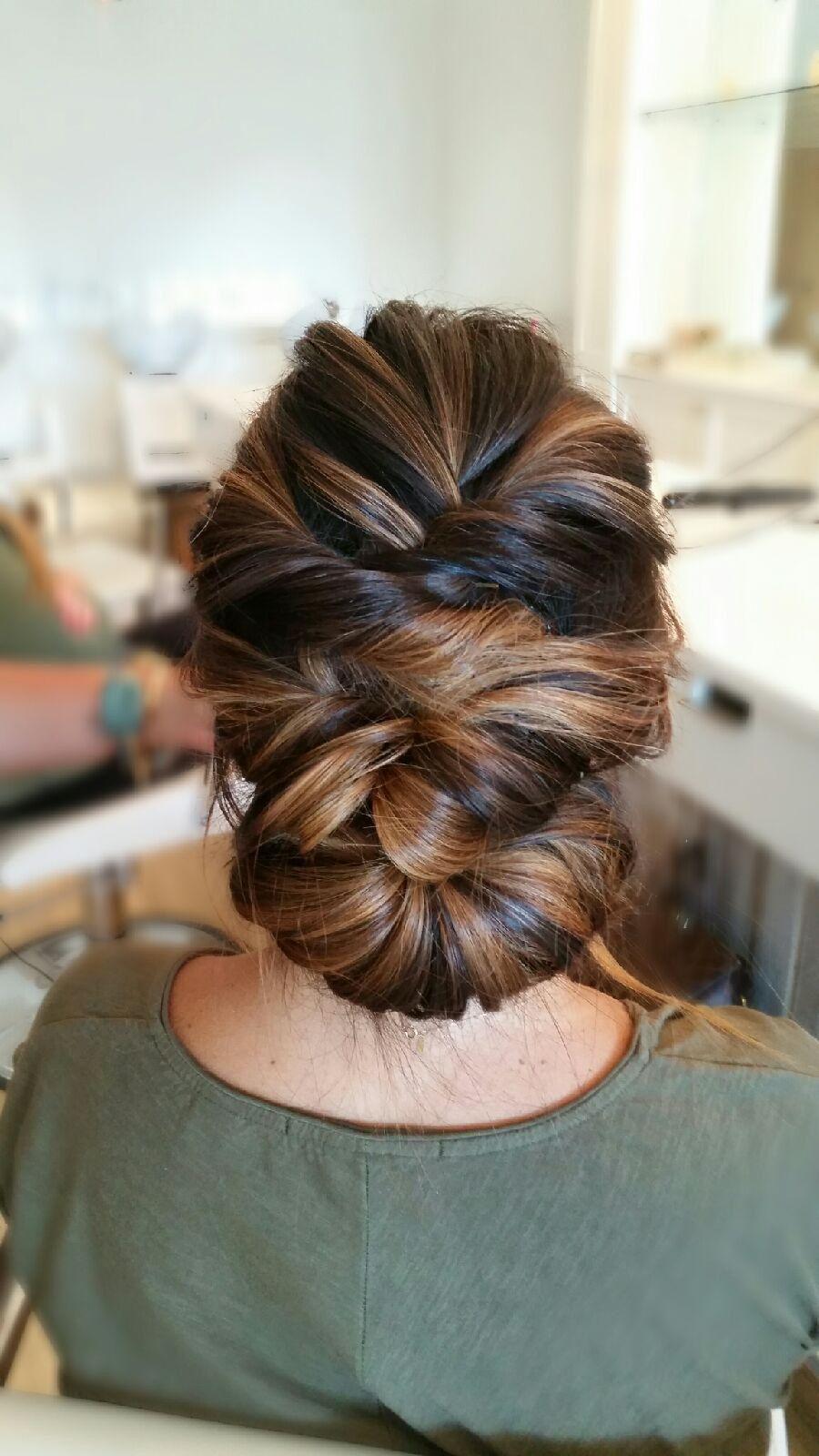 Penteado lindo para a noiva