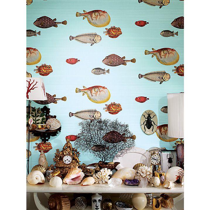 Cole Son Acquario Wallpaper 97 10030 Fornasetti Wallpaper