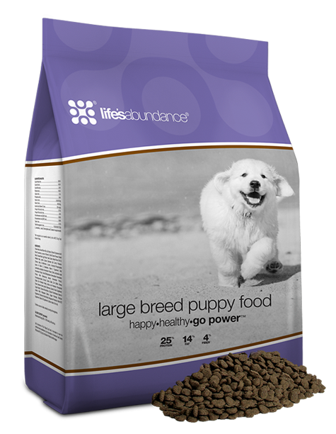 Large Breed Puppy Food Buy Life's Abundance Dog Food