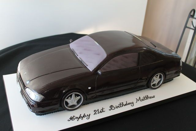 How I go about making a 3D car cake. By Paul Delaney - by ...