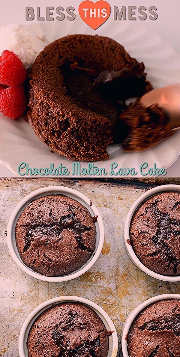 Photo of Easy Chocolate Lava Cakes