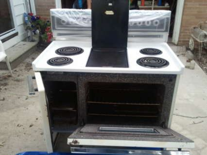 Electric Ranges With Double Ovens Kenmore 40 Inch Stove Oven Built In Griddle