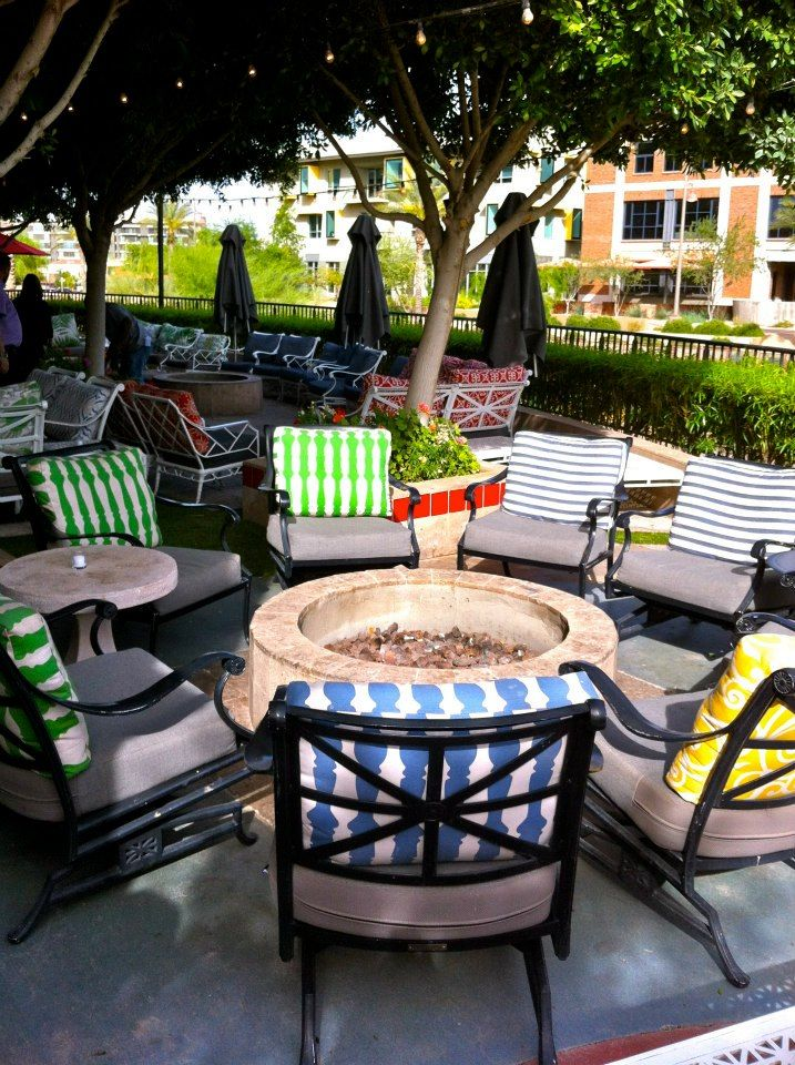 Fire Pit And Patio Olive Amp Ivy Located At The Scottsdale