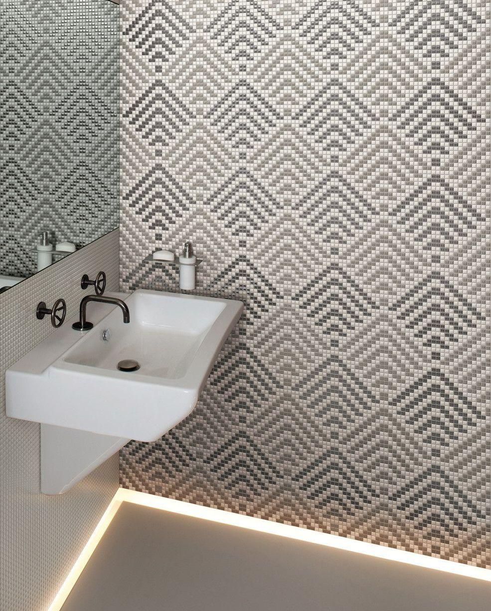 mosaici optical in versione opaca o lucida allure la nuova collezione appiani al cersaie. Black Bedroom Furniture Sets. Home Design Ideas