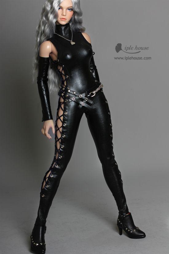 1//6 Female Body Doll W Big Chest Flexible Plastic Body Fit KUMIK HT Head