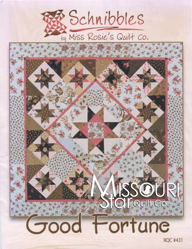 Good Fortune Mini Quilt Pattern By Carrie Nelson For Miss Rosie S Quilt Co Schnibblessku Mr 431 M Miss Rosie S Mini Quilt Patterns Quilt Patterns Quilts
