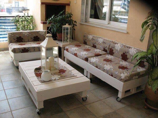 20 ideas para decorar palés Pallets, Furniture ideas and House - ideas con palets