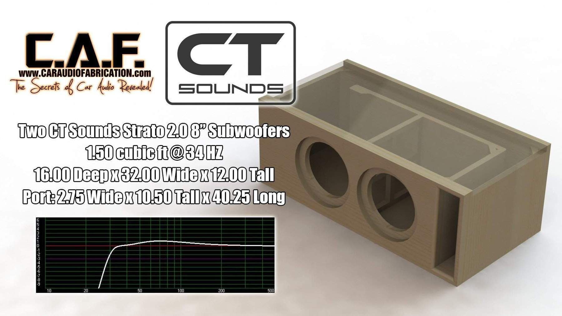 Dual 8 Inch Ported Subwoofer Box Design 10 Jl Audio Ct Sounds
