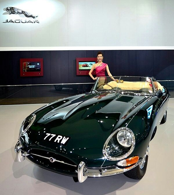 Jaguar Rental Car: Jaguar E-type At 2013 Seoul Motor Show. This E-type 77 Rw