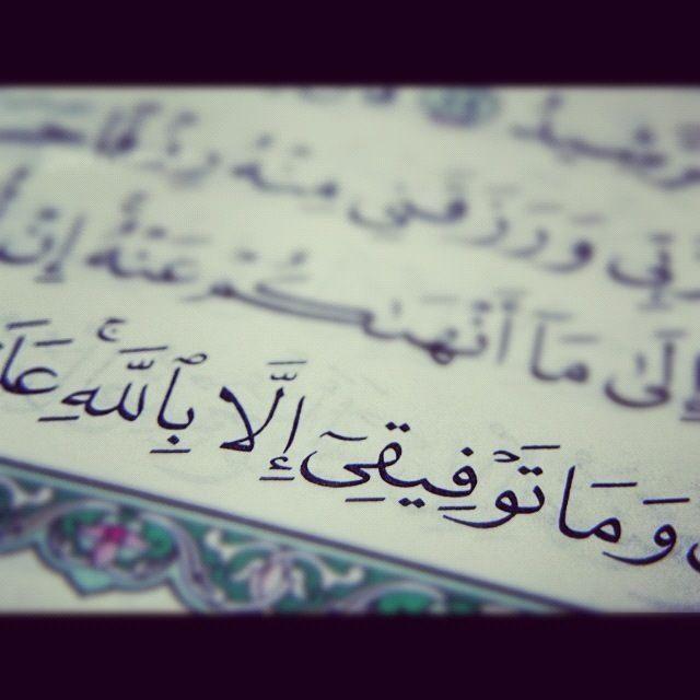 إن أريد إلا الإصلاح ما استطعت وما توفيقي إلا بالله سورة هود Quran Verses Allah Love Holy Quran