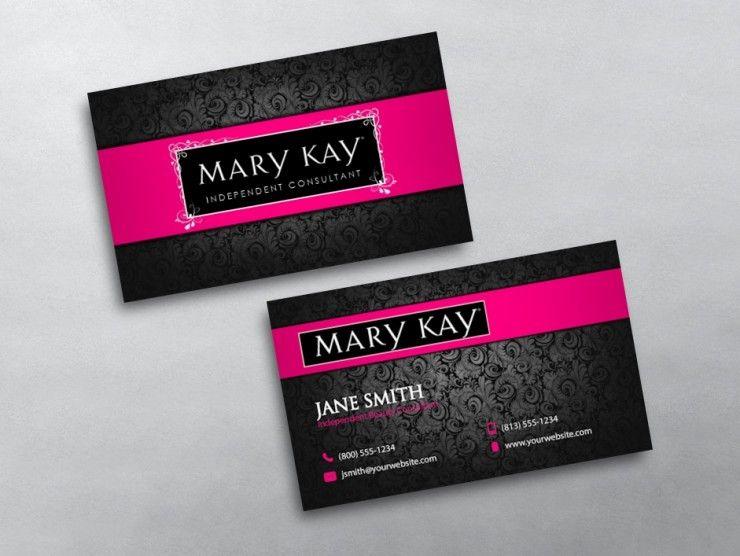 Mary Kay Business Cards Free Shipping Mary Kay Business Cards Mary Kay Business Mary Kay