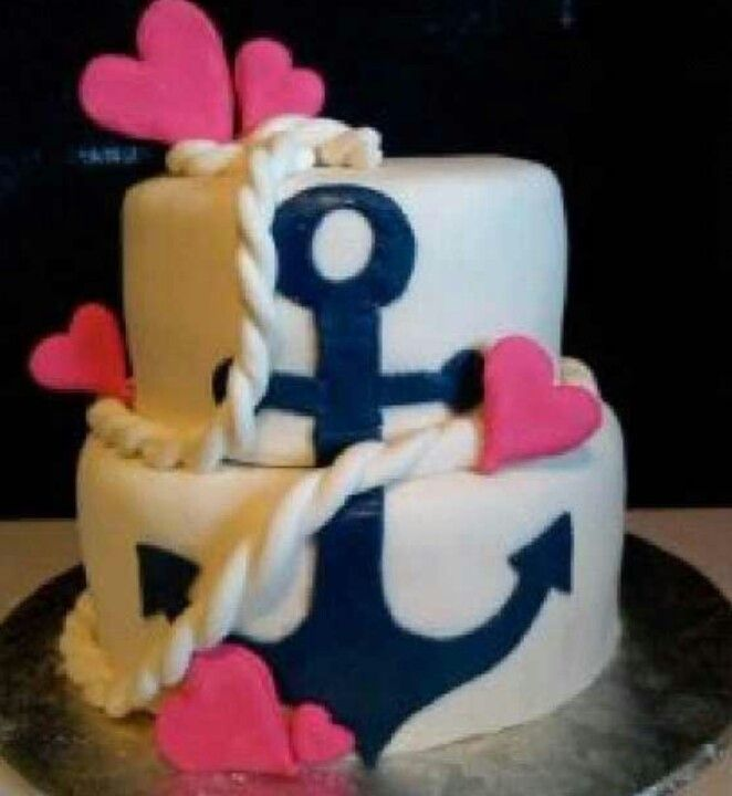 Nautical Cake Decorating Ideas