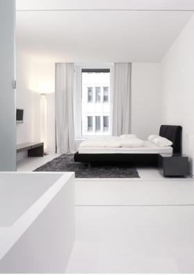 Bedroom-bathroom, Beisheim Center by Axthelm & Rolvien _