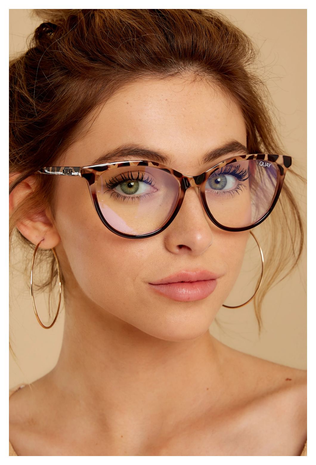Photo of fashion eyeglasses clear